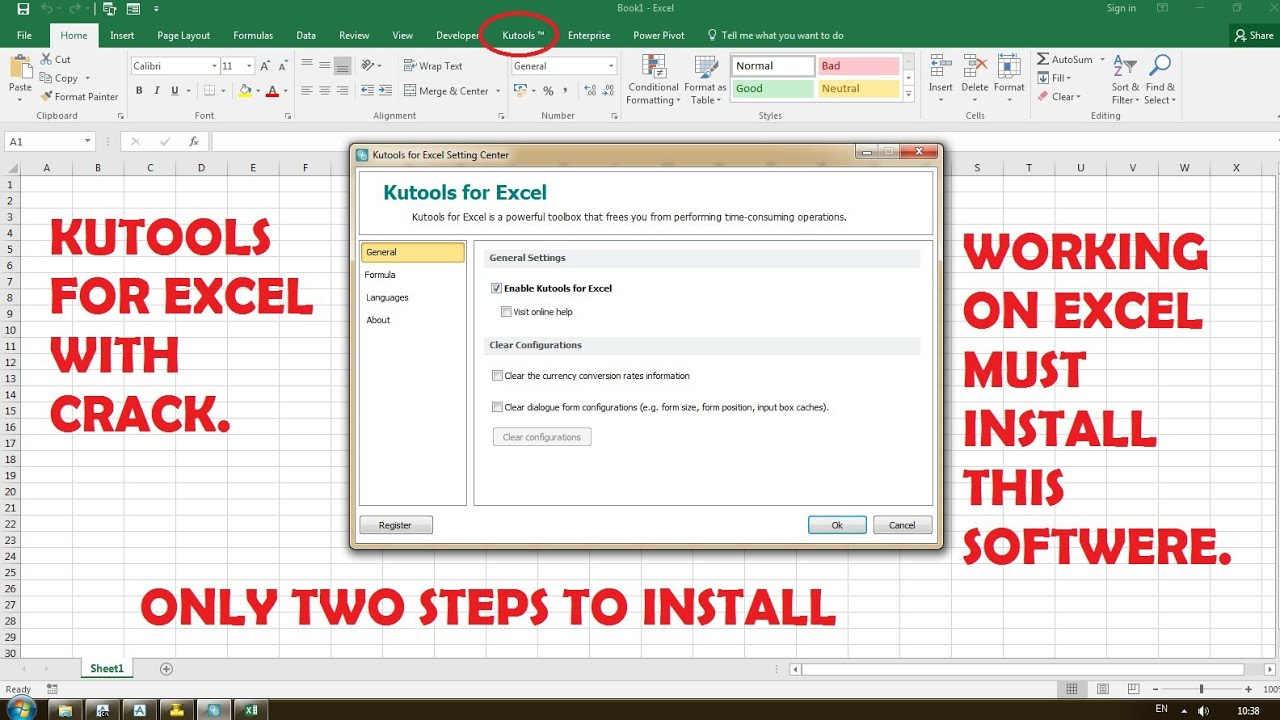 KuTools for Excel 23.0 Crack With License Key Torrent [2020]